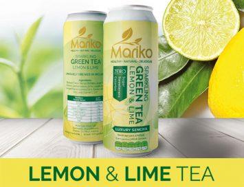 Mariko Sparkling lemon & Lime Tea Ireland