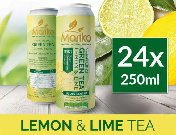 Mariko Sparkling Lemon and Lime Tea Ireland