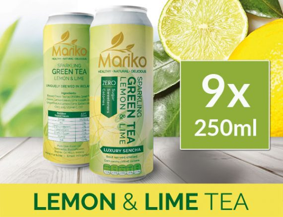 Mariko Sparkling Lemon and Lime Tea Ireland